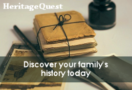 Discover your family's history today