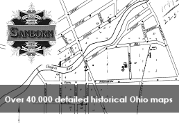 Sanborne Fire insurance Map Over 40,000 detailed Ohio historic maps