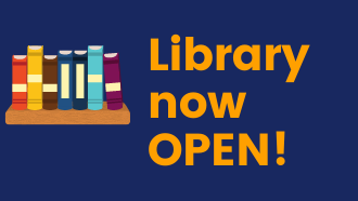 Library now open